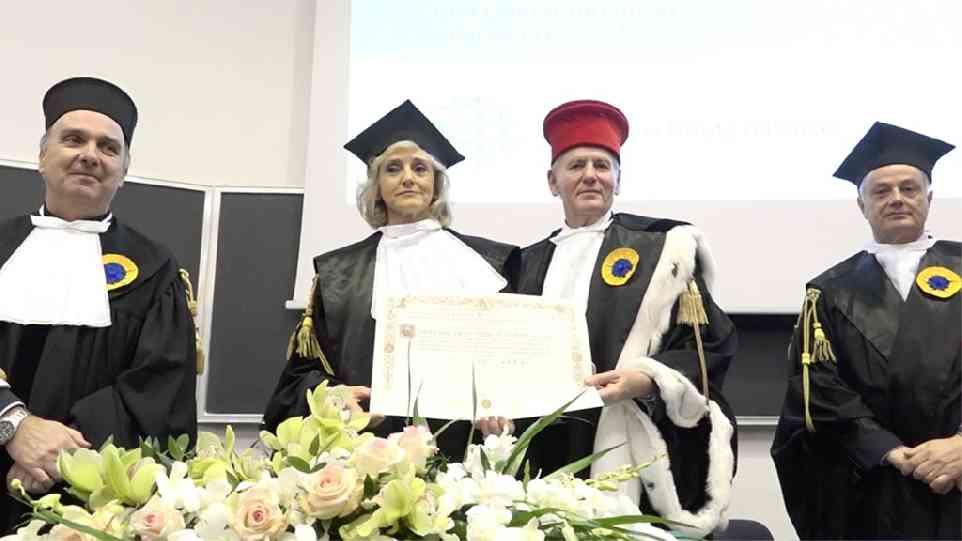A Ornella Barra la laurea ad honorem in Chimica e Tecnologia