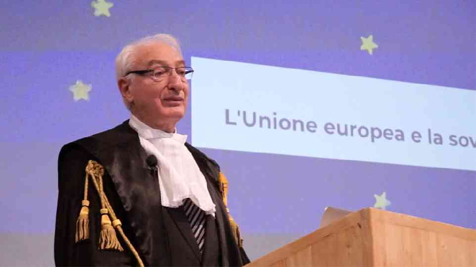 Michel Troper: l'Unione europea e la sovranità dei popoli