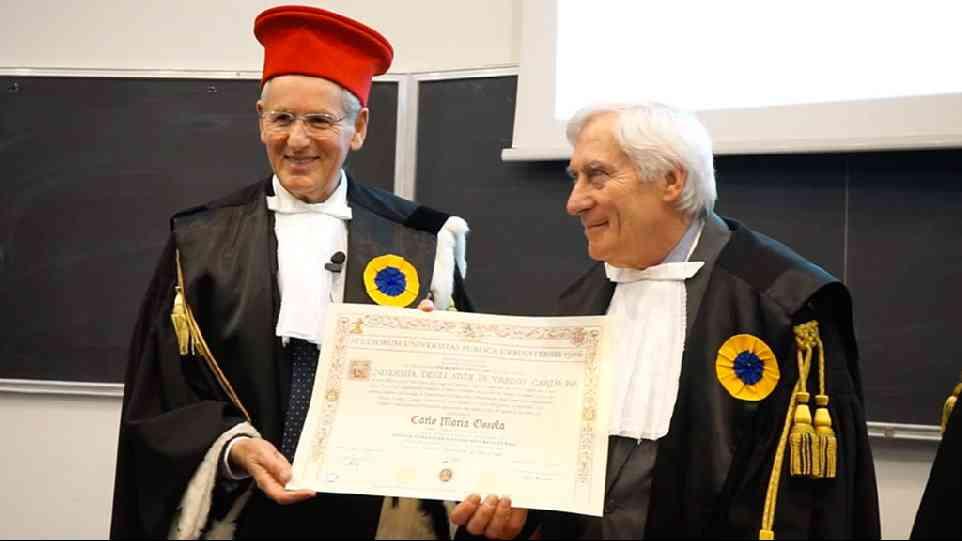 A Carlo Ossola la Laurea Honoris Causa in Lingue Straniere e